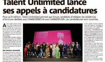 Talent Unlimited lance ses appels à candidatures