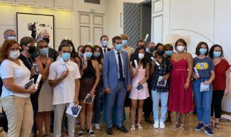 Jeunesse : 21 bacheliers méritants soutenus dans la poursuite de leurs études avec la bourse municipale Jacqueline de Romilly