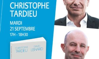 Agenda : David Lisnard en dédicace à Paris, mardi 21 septembre