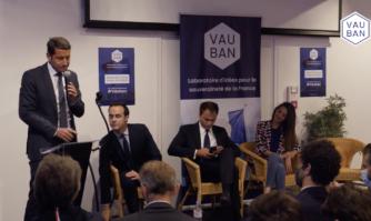 """Débat : """"La liberté, c'est le lien entre la dignité et la prospérité"""" pour David Lisnard"""