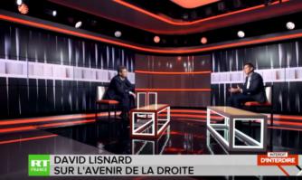 David Lisnard sur RT en France