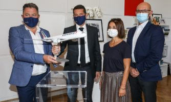 Attractivité : sur l'A350, Cannes prend encore de la hauteur avec Air France