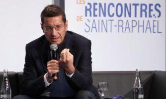 David Lisnard aux Rencontres de Saint-Raphaël